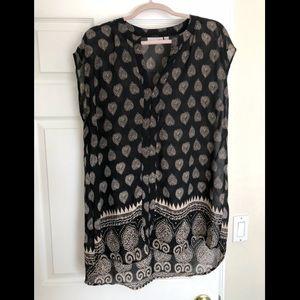 Tunic style blouse